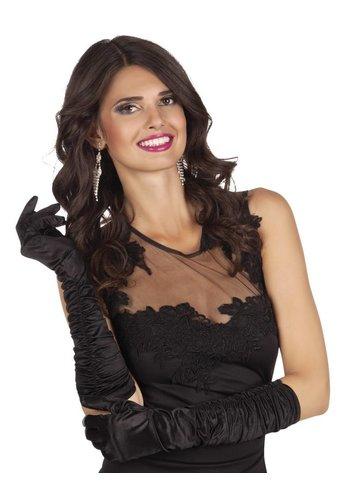 Handschoenen elleboog Hollywood - Zwart