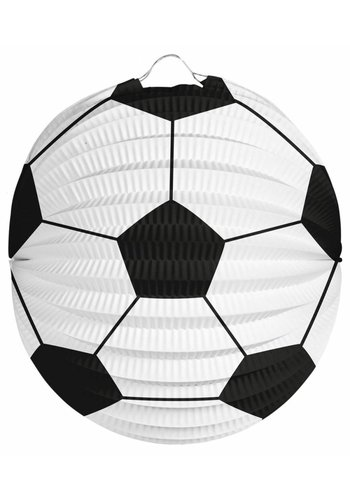 Voetbal Bol Lampion - 22cm
