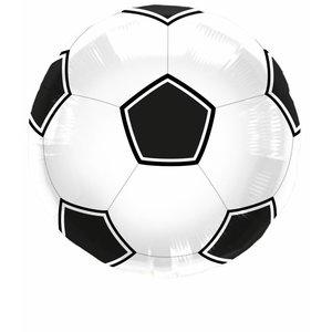 Voetbal folieballon - 45cm