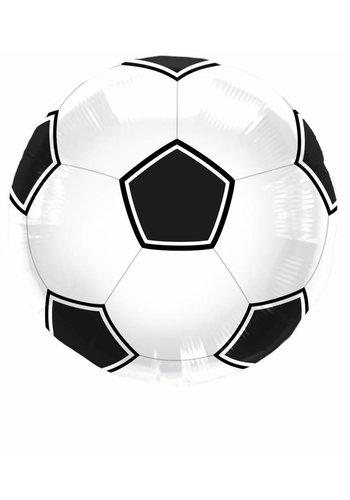 Folieballon Voetbal - 45cm