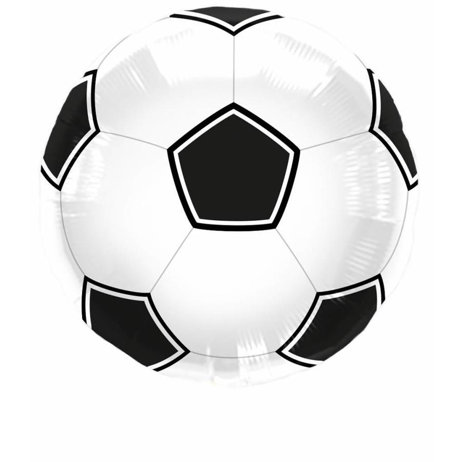 Voetbal folieballon - 45cm-1