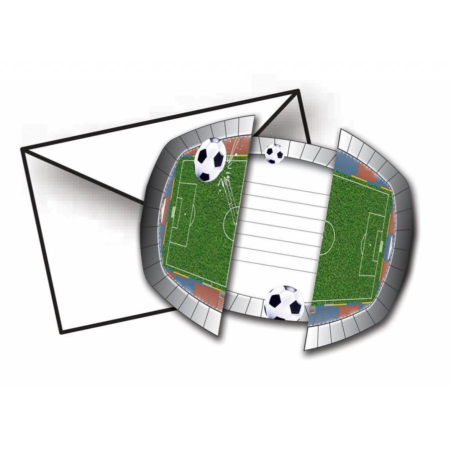 Voetbal Uitnodigingen-1