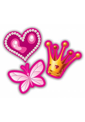 Prinsessen confetti XL