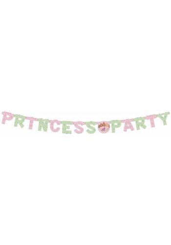 Prinsessen letterbanner