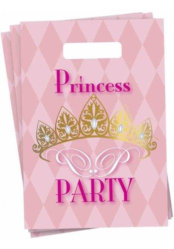 Prinsessen uitdeelzakjes - 6 stuks