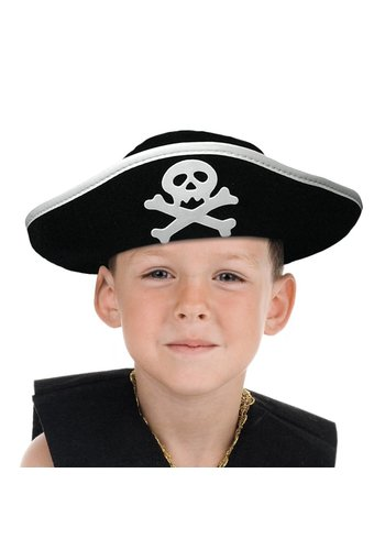 Hoed Piraat Junior