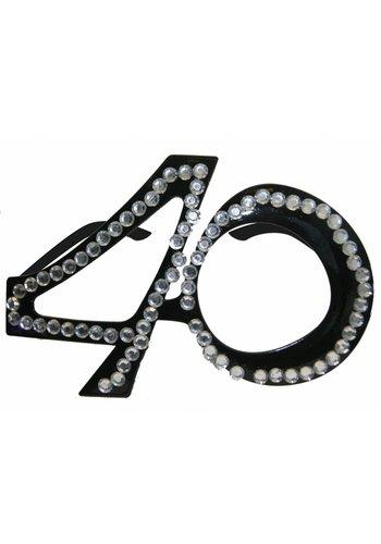 Diamanten Bril 40
