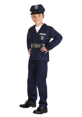 Junior Politie kostuum 4 Delig
