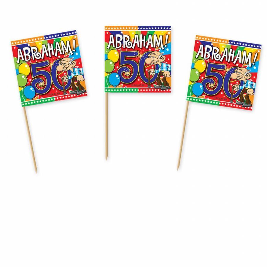 Abraham Explosion prikkertjes - 50 stuks-1