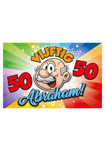 Abraham Rainbow 3D deco 58x38cm