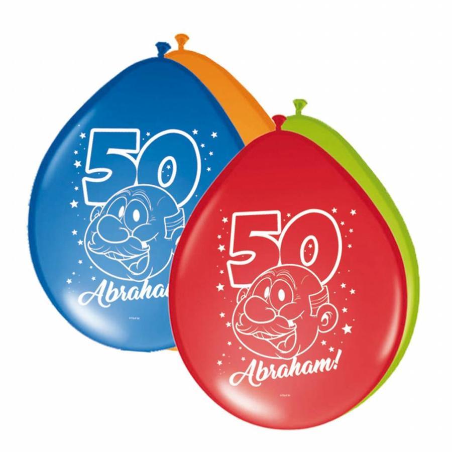 Abraham Rainbow ballonnen - 8 stuks-1