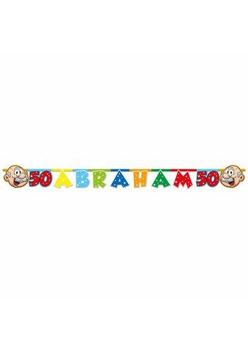 Abraham Rainbow letterbanner