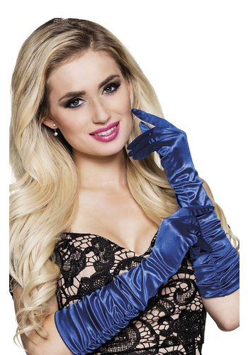 Handschoenen elleboog Hollywood - Blauw