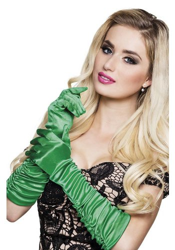 Handschoenen elleboog Hollywood - Groen