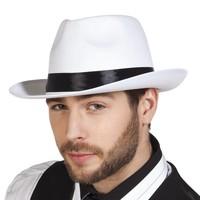 Al Capone Hoed Mafia - Wit