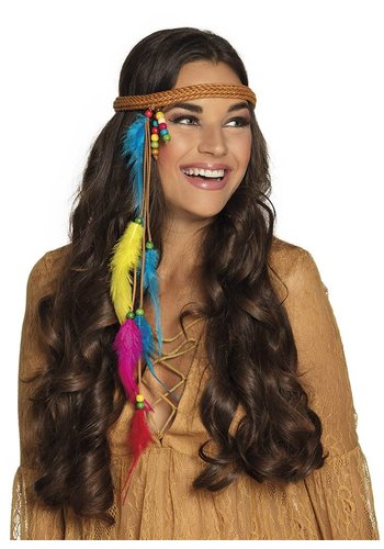 Hoofdband Hippie / Indiaan
