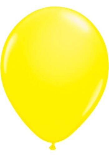 Neon Ballonnen Geel - 25cm - 8 stuks