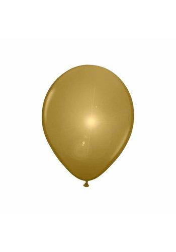 LED Ballonnen Goud - 20cm - 5 stuks