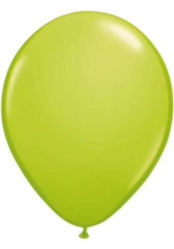 Lime Groen - 30cm - 10 stuks