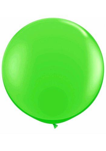 Mega Ballon Lime Groen - 90cm - 1 stuk