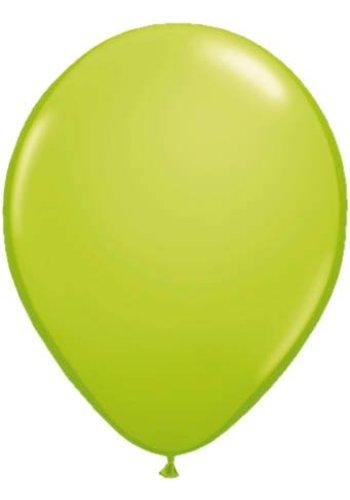 Metallic Lime Groen - 30cm - 50 stuks