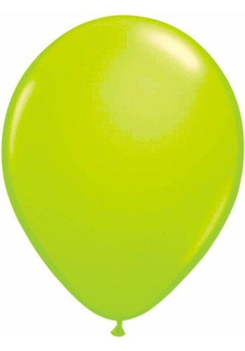 Neon Ballonnen Groen - 25cm - 8 stuks
