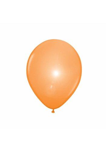 LED Ballonnen Oranje - 20cm - 5 stuks