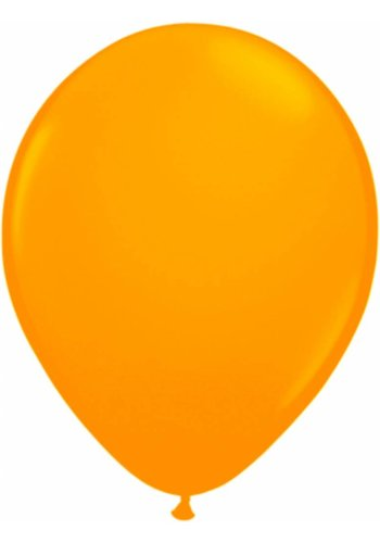Neon Ballonnen Oranje - 25cm - 8 stuks