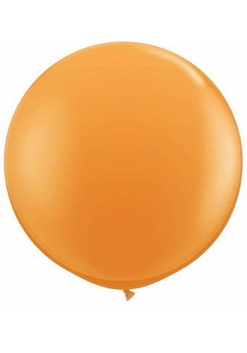 Mega Ballon Oranje - 90cm - 1 stuk