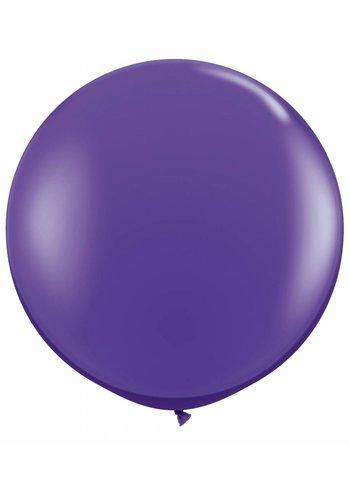 Mega Ballon Paars - 90cm - 1 stuk