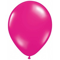 Ballonnen Metallic Magenta - 10 stuks