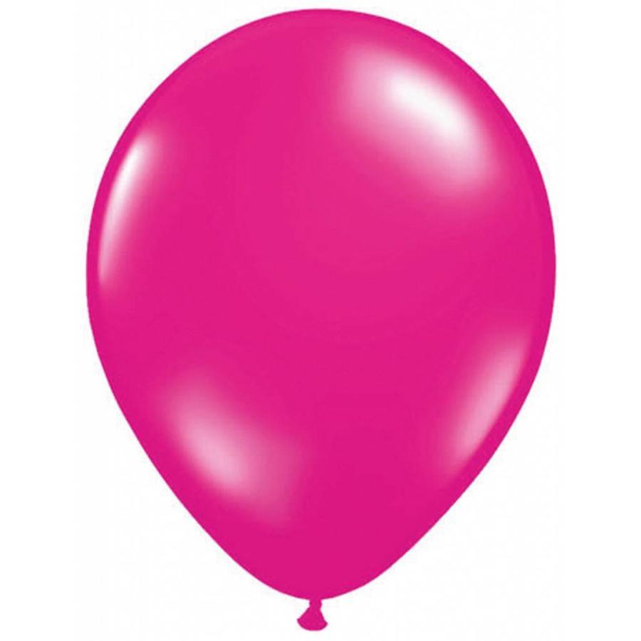 Ballonnen Metallic Magenta - 10 stuks-1