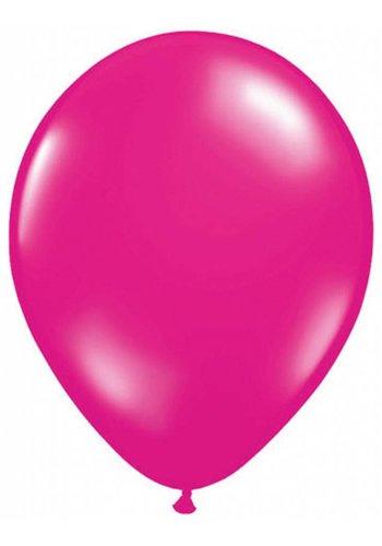 Metallic Hot Pink - 30cm - 50 stuks