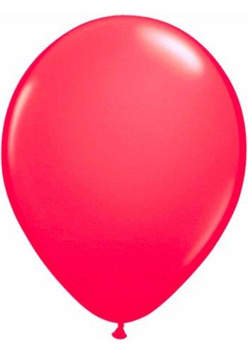 Neon Ballonnen Pink - 25cm - 8 stuks