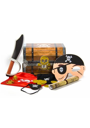 Piraten Schatkist met Inhoud