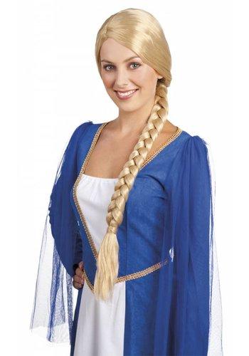 Pruik Lady Catherine - Blond