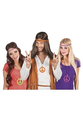 Ketting Hippie - 3 kleuren ass.