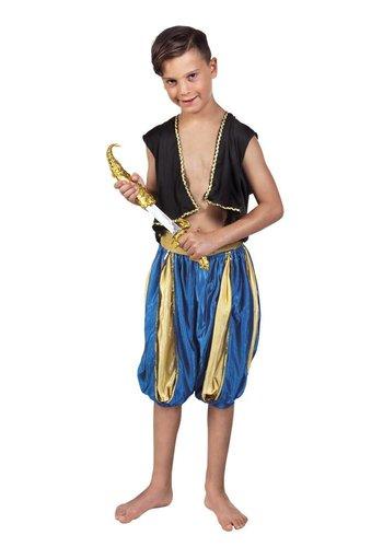 Arabische dolk met schede - 33cm