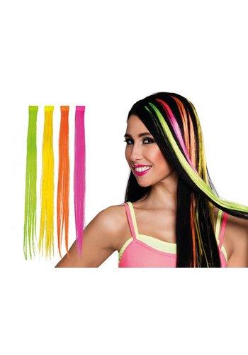 Neon Hair Extension - 4 Kleuren