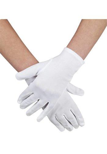 Handschoenen pols Basic - wit