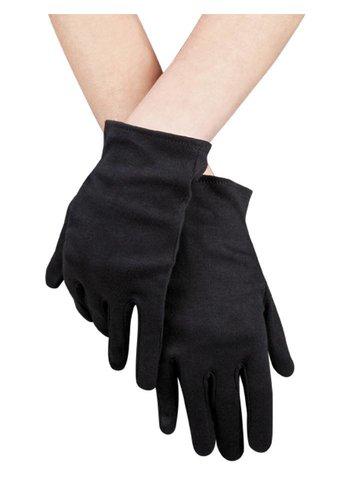 Handschoenen pols Basic - zwart