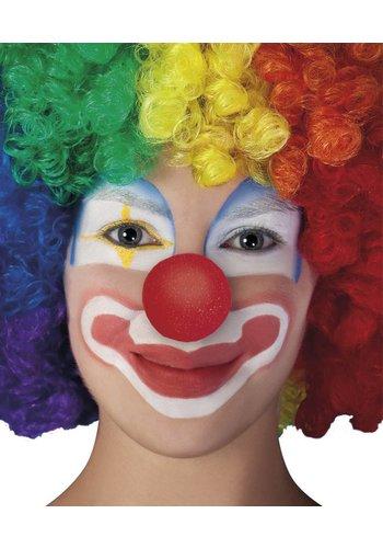 Clownsneus Schuim