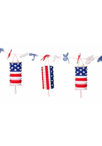 USA Party Lampion slinger - 360cm