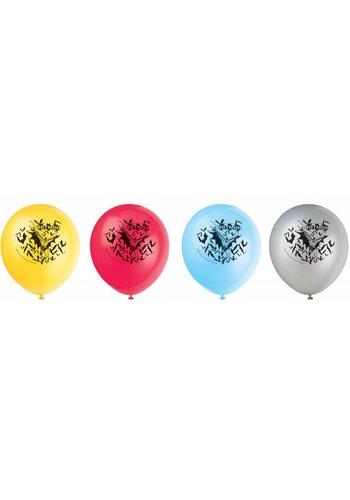 Batman ballonnen - 8 stuks