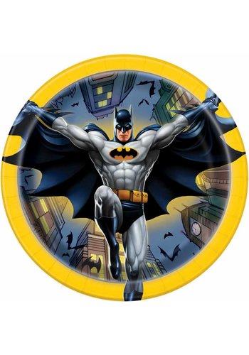 Batman bordjes 18cm - 8 stuks