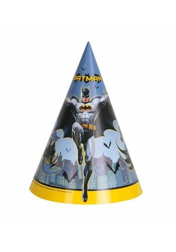 Batman hoedjes - 8 stuks