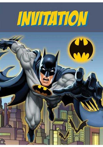 Batman Uitnodigingen - 8 stuks