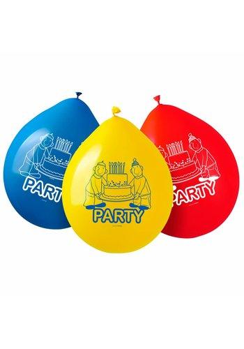 Buurman en Buurman ballonnen - 8 stuks