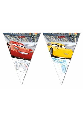 Cars vlaggenlijn - 3 meter