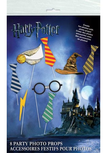 Harry Potter Photo props - 8 stuks